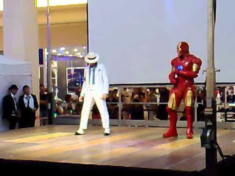Michael Jackson VS IronMan.mp4