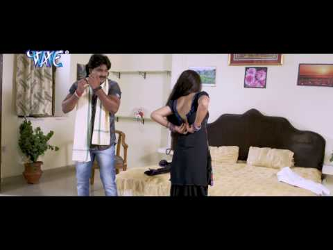 चोली के हुक लगा दs - Pawan Singh & Nidhi Jha - Gadar - Bhojpuri Hot Comedy Sence  From Movie
