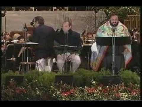 Rehearsal (6) The Three Tenors Concert 1994