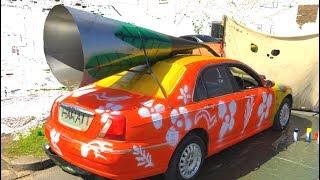 Crazy loud Exhaust Mod - Scrimp my Ride
