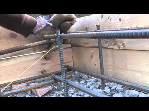 Floating Concrete Slab DIY Rebar
