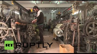 State of Palestine: Keffiyeh producers and traders lament Chinese competition