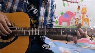 Tera Zikr - Darshan Raval - Guitar Cover Lesson Hindi Chords Easy