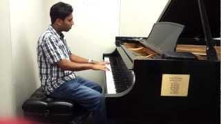 Aashiyan- barfi (piano cover by nikhil jukar)