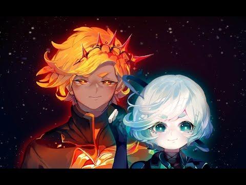 Sun / Moon -Anime | SpeedPaint | Paint Tool Sai