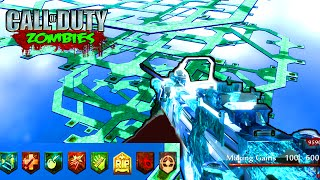 HARDEST SOLO ZOMBIES MAP EVER - CUSTOM ZOMBIES GAMEPLAY (Call of Duty World at War Zombies Mod)