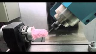 diy homemade mon 5 axis cnc rtcp milling