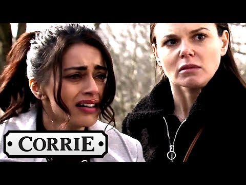 Coronation Street - Kate Saves Rana From Her Parent's Plot to Abduct Her!