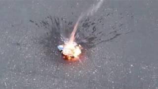 Burning Jay Jay the Jet Plane