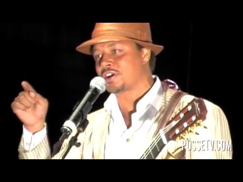 Terrance Howard - Sings Story about Seal & Heidi Klum b4 there Marriage