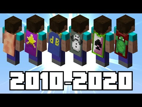 The History of Minecraft s RAREST Capes