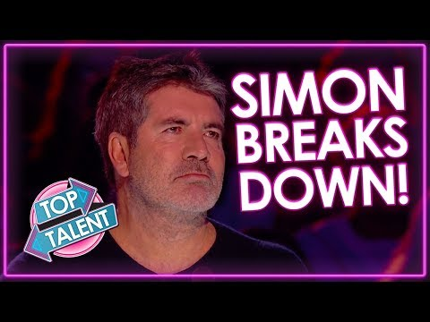 TOP 3 Auditions That Made Simon Cowell Cry on Got Talent Top Talent