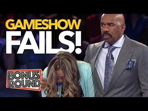 BIGGEST GAMESHOW FAILS EVER Family Feud Match Game Celebrity Name Game Bonus Round