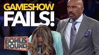 BIGGEST GAMESHOW FAILS EVER! Family Feud, Match Game, Celebrity Name Game! Bonus Round
