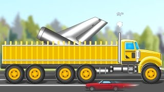 big truck | giant loading truck | videos for kids | kids channel