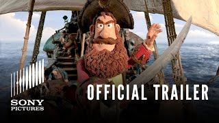 THE PIRATES! BAND OF MISFITS 3D - Official Trailer - In Theaters 4/27