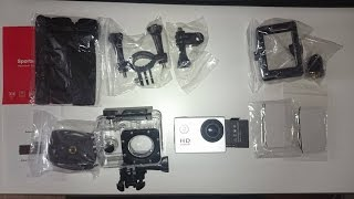 Unboxing & Review NEW SJ4000 1080P HD 2 0 Sports Action Camera