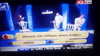 Cricfreak show at Gazi tv during world cup 2015