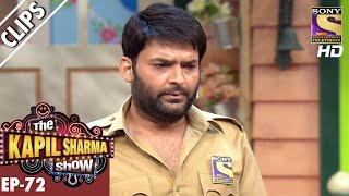 Kapil becomes Police Man  - The Kapil Sharma Show – 7th Jan 2017