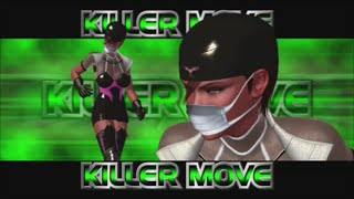 Rumble Roses XX - Dr. Anesthesia Killer Move (Flying Stretcher)
