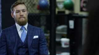Conor McGregor STORMS OUT DURING INTERVIEW! - Game of War