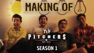 Making of TVF Pitchers Season 1 | Full Season now streaming on TVFPlay (App/Website)
