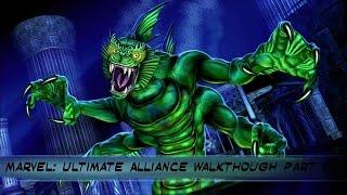 Marvel: Ultimate Alliance PS4 Walkthrough Part  6
