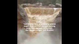 Tanda Kiamat: Muncul Sungai Padang Pasir di Jazirah Arab