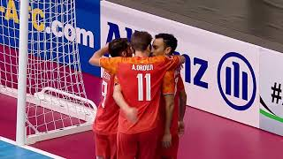Nafit Al Wasat 2-3 Mes Sungun Varzaghan (AFC Futsal Club Championship 2018 – Semi-final)