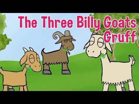 The Three Billy Goats Gruff Animated Fairy Tales for Children