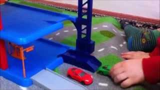 Parking Service Playset - Video For Children