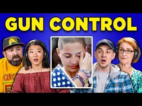Xxx Mp4 GENERATIONS REACT TO GUN CONTROL IN AMERICA 3gp Sex
