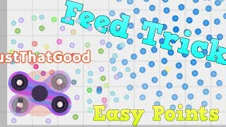 FEED YOURSELF TRICK   EASY POINTS   Spinz.io