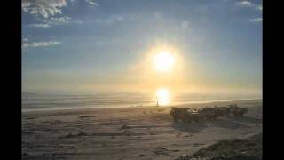 Time Lapse of Sunset over Southend Beach, Beachport, South Australia - November 2010