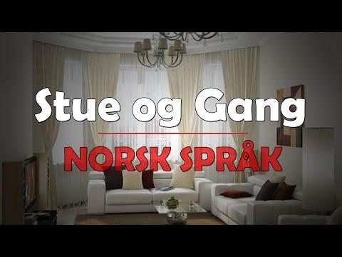 Norsk språk - Stue og gang