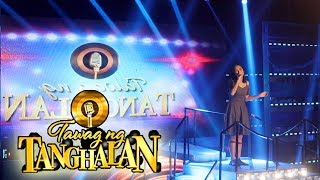 TAWAG NG TANGHALAN :Elaine Duran - Somewhere Over The Rainbow LIVE at it's Showtime