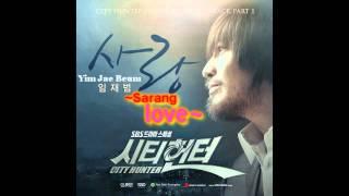 City Hunter OST - Love (Sarang) - Yim Jae Beum ~ Onscreen Lyrics & Translation