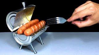 Cómo Hacer una MINI BARBACOA Casera | Mini BBQ