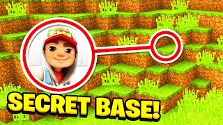 Minecraft  : We Found SUBWAY SURFERS SECRET BASE! (Ps3/Xbox360/PS4/XboxOne/PE/MCPE)