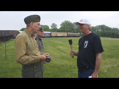 2011 WWII Living History Days - Throwing a German Stick Grenade