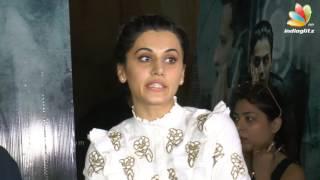 Naam Shabana Movie 2017 | Zinda Video Song Launch | Taapsee Pannu