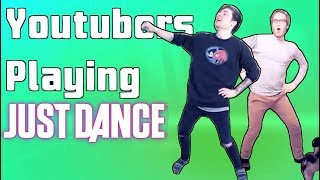Youtubers Playing Just Dance