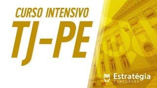 Curso Intensivo - TJ-PE - Normas aplicáveis aos Servidores Públicos   Ao vivo