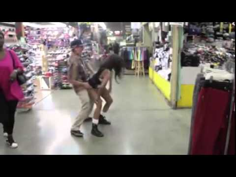 Grandpa Got Skills Dancing to Rap Song at The Mall