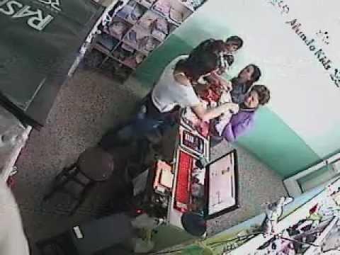 Así roban las mecheras en Corrientes