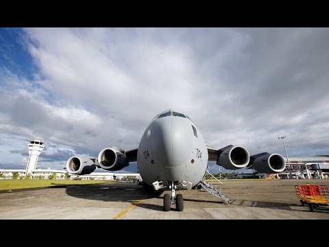 Super Typhoon Hyan Air Bridge to the Philippines