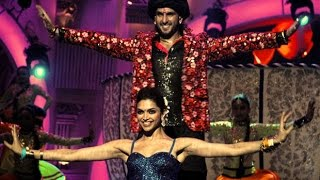Deepika Padukone & Ranveer Singh performance in Zee Cine Awards