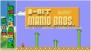 8-Bit Mario Bros. - Desert Mario