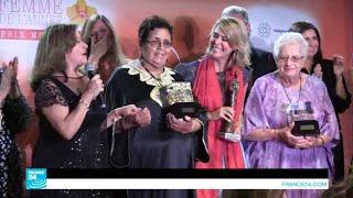موناكو.. عائشة الشنا تتوج بجائزة امرأة العام