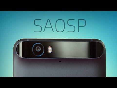 SAOSP ROM for Nexus 6P! (Nougat)